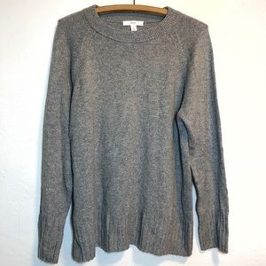 1901 Wool Blend Grey Sweater Women's XL NEW